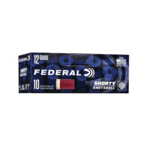 Federal Ammunition Shorty Shotshell 12 Gauge Shotgun Shells