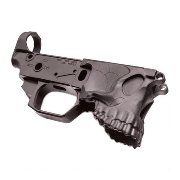 Sharps The Jack Black Aluminium Stripped AR-15 Lower Reciever Firearm Accessories
