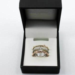 Diamond & Gold Ring 5.48 Grams – 0.20 Carats Jewelry