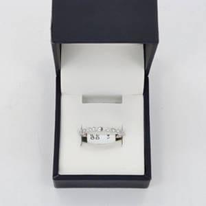 Diamond & White Gold Ring 2.37 Grams – 0.08 Carats Jewelry