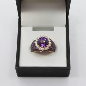 Diamond, Âme & Rose Gold Ring (0.67 carats/ AME 4.73 carats) Jewelry