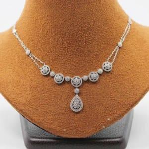 Diamond Necklace 14KTW – 1.76 Carat Jewelry