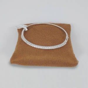 Diamond & White Gold Bracelet 2.00 Carats Jewelry