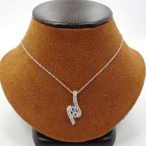 Diamond Necklace White Gold 14KTW – 1.50 Carats Jewelry