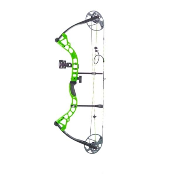 Diamond Prism Compound Bow LH 5-55# Neon Green Archery