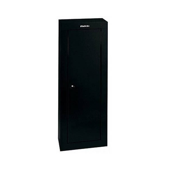 Stack-On 8-Gun Security Cabinet Black Firearm Accessories