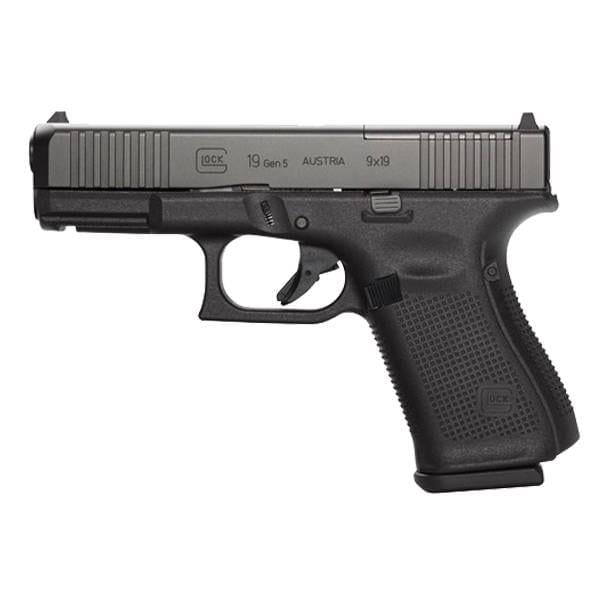 Cutting Edge Combination's- Glock G19 G5 9MM Handgun + Famars Tactical Knife Firearms