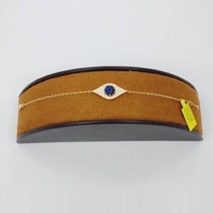 Diamond, Sapphire & Yellow Gold Bracelet (0.38 crt/ 0.54 crt) Jewelry