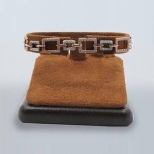 Diamond, Rose & White Gold Bracelet 13.50 Grams – 2.00 Carat Jewelry