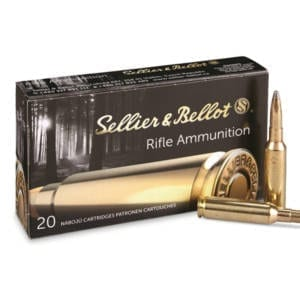 Sellier & Bellot 6.5 Creedmoor SP 140 Grains Ammunition 6.5 Creedmoor