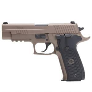 SIG Sauer P226 Emperor Scorpion 9mm Luger Handgun Firearms