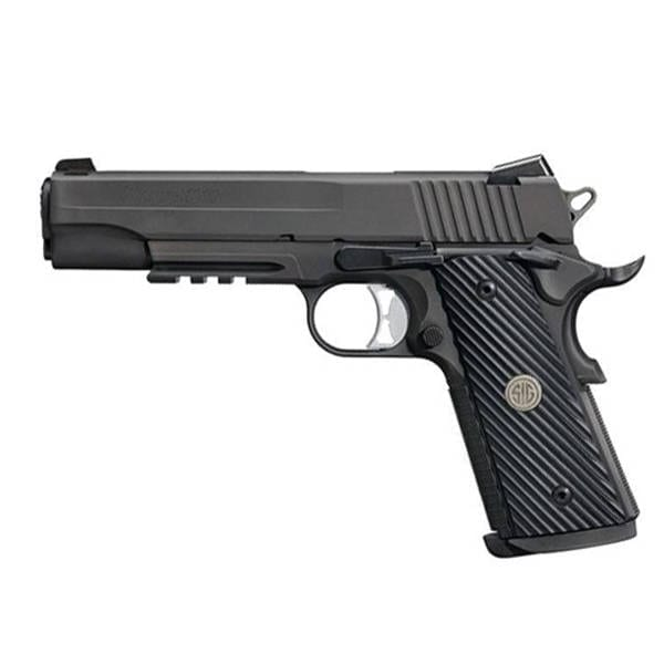 SIG Sauer 1911 TacOps-Full Size 10mm Handgun Firearms