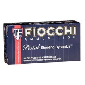 Fiocchi Shooting Dynamics 38 Special 130 Grain FMJ (Single Box) .38 Special