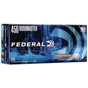 Federal Power-Shok .450 Bushmaster .450 Bushmaster