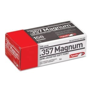 Aguila .357 Magnum Semi-Jacketed Soft Point Ammunition .357 Magnum