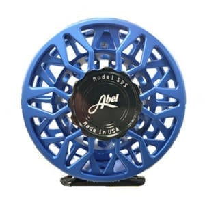 Abel SDS 9/10 Ported Satin Blue III Reel Fishing