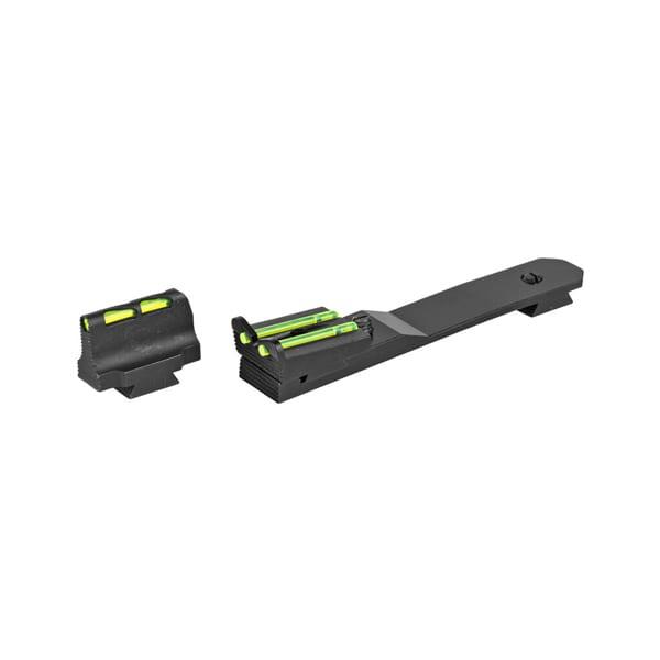 Hi-Viz Henry Rifle Fiber Optic Sight Red/Green/White Firearm Accessories