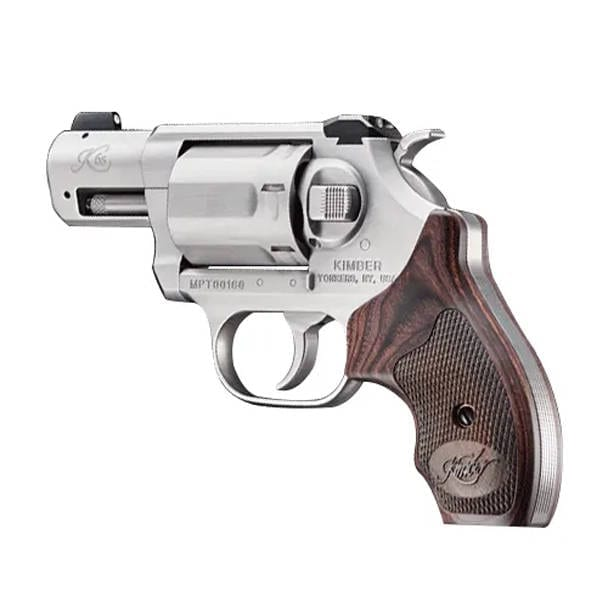 Kimber K6S Double/ Single Action 2″ Brushed Revolver Firearms