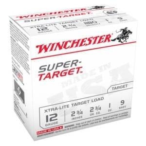 Winchester Super Target 12Gauge #9 12 Gauge