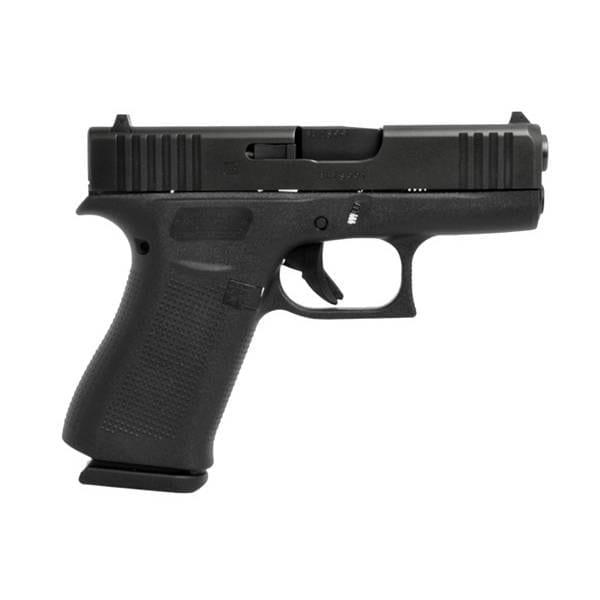 Glock G43X 9MM Black 3.39″ Handgun Firearms