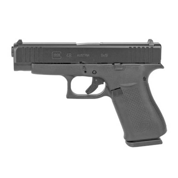 Glock G48 9MM Black 4″ Handgun Firearms