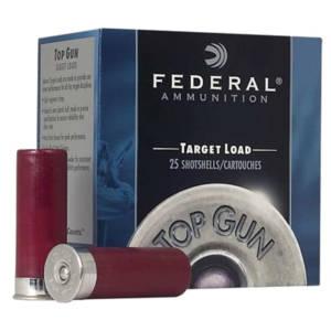 Federal Top Gun 12 Gauge Target Load Ammo 12 Gauge