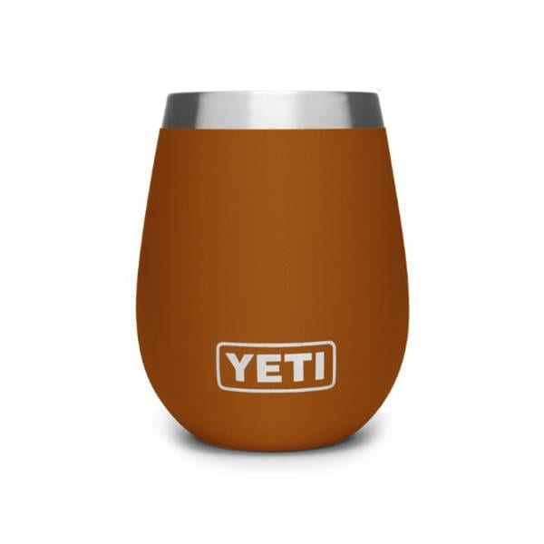 YETI RAMBLER 10 OZ WINE CLAY Camping Gear
