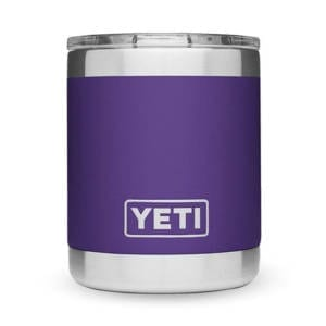 YETI RAMBLER 10 OZ PEAK PURPLE LOWBALL Camping Gear