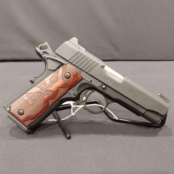 Pre-Owned – Browning 1911 – 380 ACP Black Label Handgun Firearms