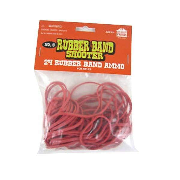Rubber Band 24 Pack Refill for Rifles Miscellaneous