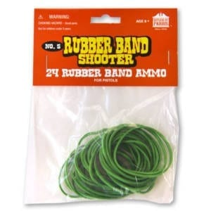 Rubber Bands for Pistols (package of 24) Miscellaneous