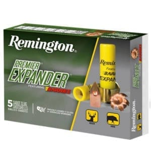 Remington Premier Expander Sabot Slugs 20 Gauge Ammunition 20 Gauge