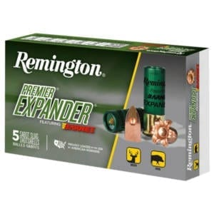 Remington Premier Expander Sabot Slug 12 Gauge Ammunition 12 Gauge
