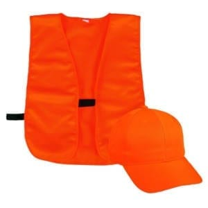 Outdoor Youth Blaze Cap And Vest Combo Caps & Hats