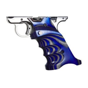 Volquartsen Laminated Wood Grips for Mark IV Model (Blue) Firearm Accessories