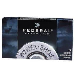 Federal PowerShok 7mm Remington Magnum JSP Ammunition 7mm Remington Magnum