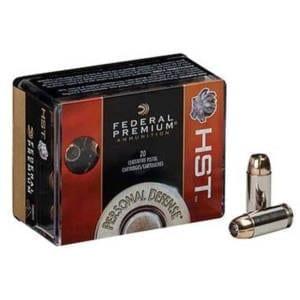 Federal Premium Personal Defense .380 ACP HST Ammunition .380 ACP