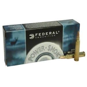 Federal Power-Shok 223 Remington 55 Grain Ammunition .223 Remington