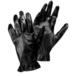 Bob Allen Unlined Black Leather Gloves (Small) Clothing