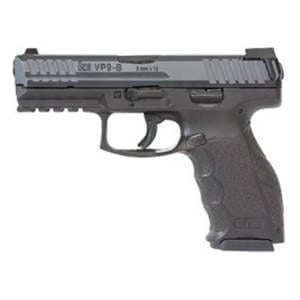 Heckler & Koch VP9-B Push Button 9mm Handgun Firearms