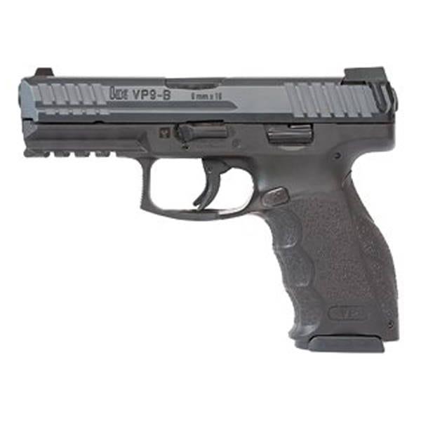 Heckler & Koch VP9-B Push Button 9mm Handgun Firearms
