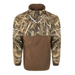 Drake 1/4 Zip Refuge Eqwader Realtree Max (L) Clothing
