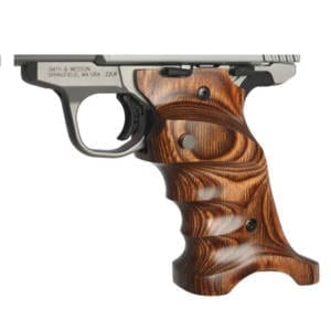 Volquartsen Laminated Wood Grips for Mark IV Model (Brown) Firearm Accessories