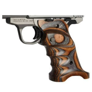 Volquartsen Laminated Wood Grips for Mark IV Model (Brown-Gray) Firearm Accessories