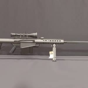 BARRETT 82A1 Black – .50BMG Rifle w/ ABS Power Scope Firearms