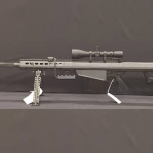 BARRETT 82A1 – Black .50BMG Rifle w/ Leupold Mark IV (4 x 14) Firearms