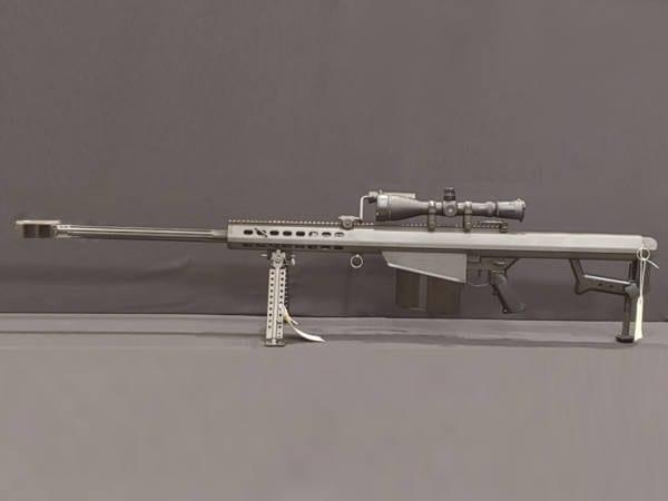 BARRETT 82A1 Black – .50BMG Rifle w/ Leupold Mark IV (4 x 14) Firearms