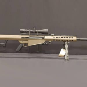 BARRETT 82A1 FDE – .50BMG Rifle w/ ABS Power Scope Firearms