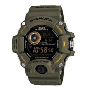 Casio Tactical Rangeman Military Olive Watch Accessories