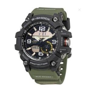 Casio G-Shock MudMaster Army Green Men's Analog Watch Accessories